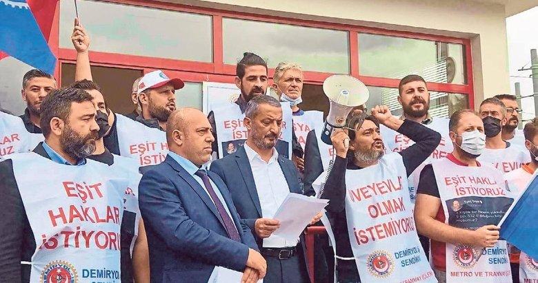 """""""Grev olursa İzmir'de ulaşım sistemi çöker"""""""