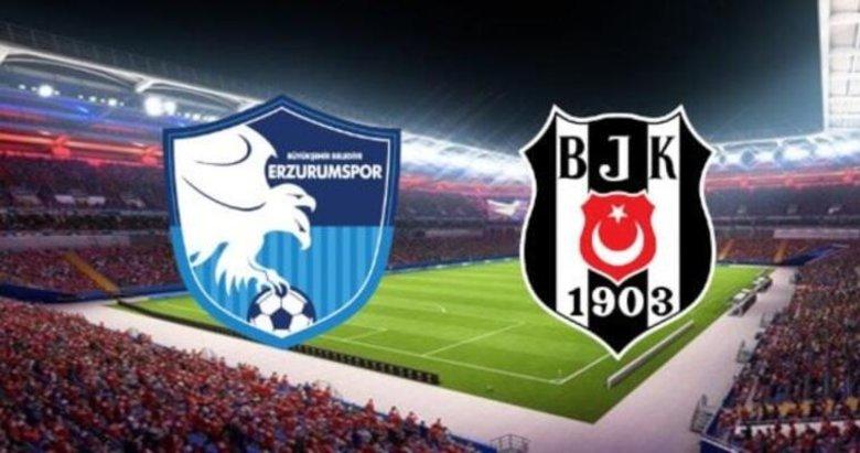 Erzurumspor 2 - Beşiktaş 4 MAÇ SONUCU