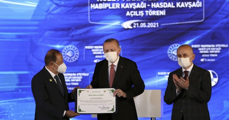 Başkan Erdoğan adına hatıra ormanı kuruldu