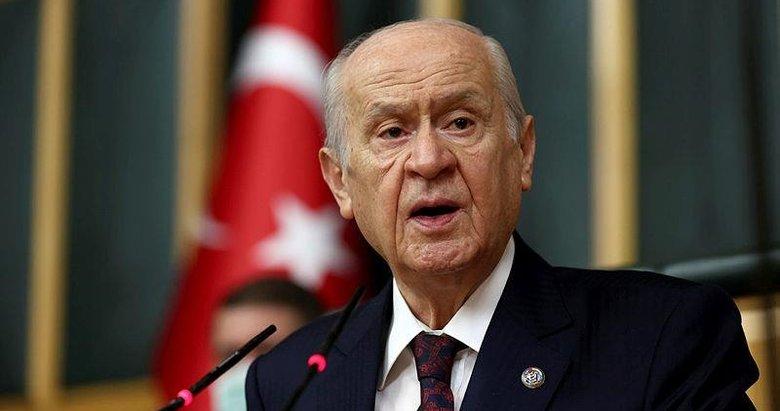 MHP lideri Bahçeli'den 'baraj' önerisi