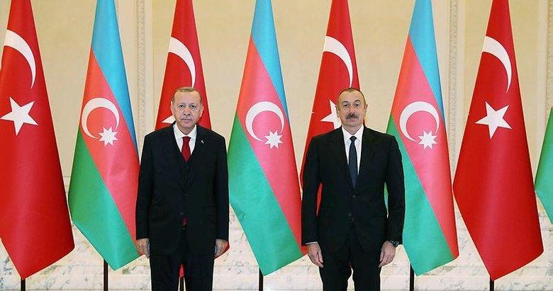 Başkan Erdoğan ve Aliyev önderliğinde anlaşmalar için imza töreni düzenlendi