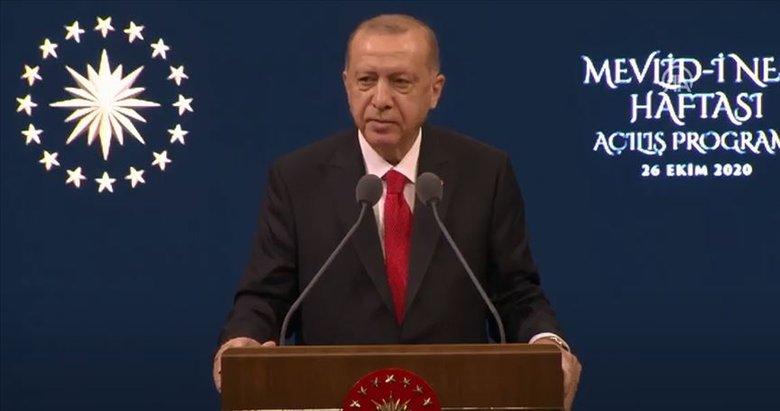 Son dakika: Başkan Erdoğan'dan Mevlid-i Nebi Haftası Açılış Programı'nda önemli açıklamalar