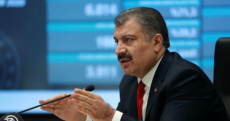 Son dakika: Sağlık Bakanı Fahrettin Koca illere göre haftalık koronavirüs vaka sayılarını açıkladı