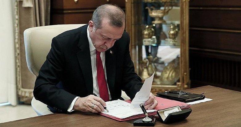 Başkan Erdoğan imzaladı! 768 yeni kadro ihdas edildi