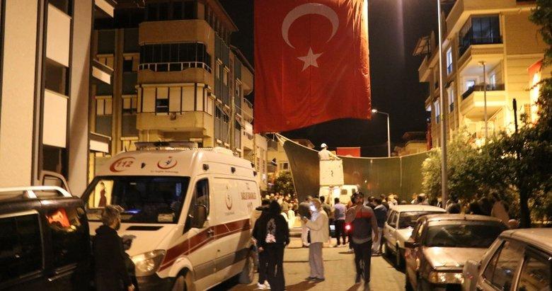 Muğla'da şehit olan polis memuru Ercan Yangöz'ün Denizli'deki ailesine acı haber ulaştı