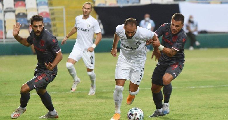 Altay - Yılport Samsunspor: 0-0   MAÇ SONUCU