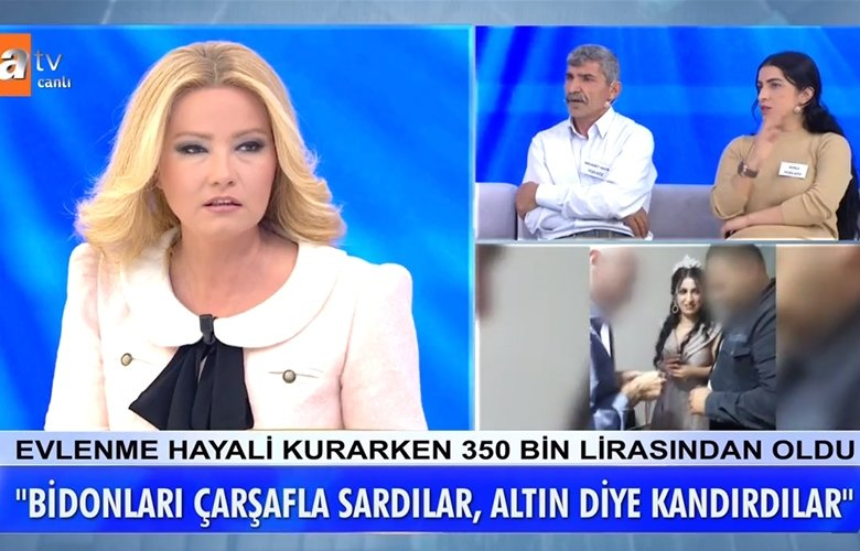 Müge Anlı canlı yayınında kan donduran iddialar! Üç harfliler ile kandırıp 350 bin lira dolandırıldılar!