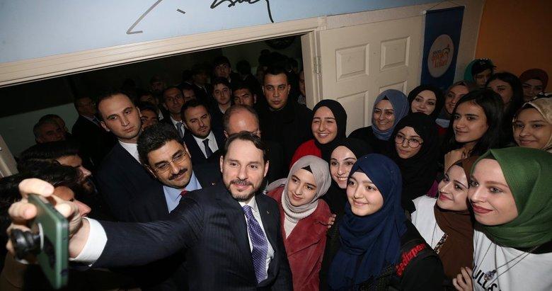Bakan Berat Albayrak'tan Tokat ve Sivas'a teşekkür mesajı