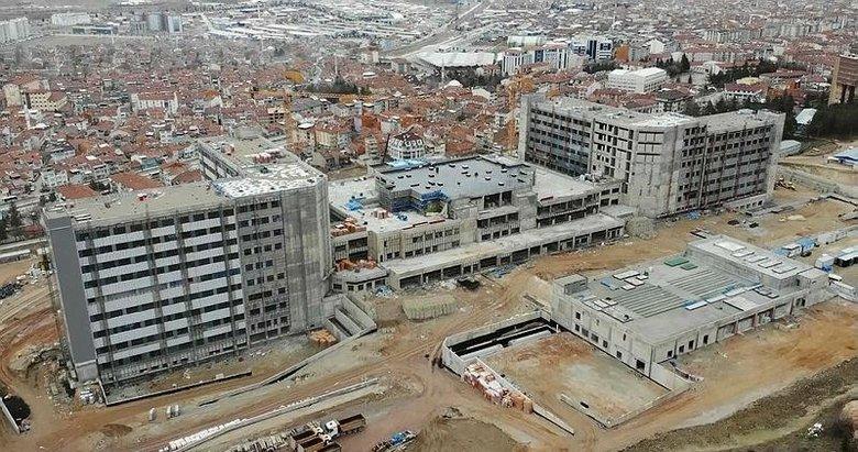 İşte Kütahya Şehir Hastanesi inşaatında son durum! Ne zaman açılacak?