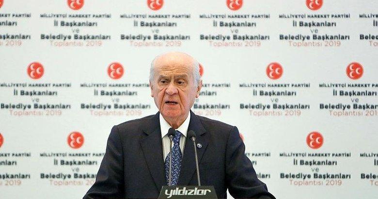 MHP Lideri Bahçeli'den kritik İstanbul ve seçim açıklaması