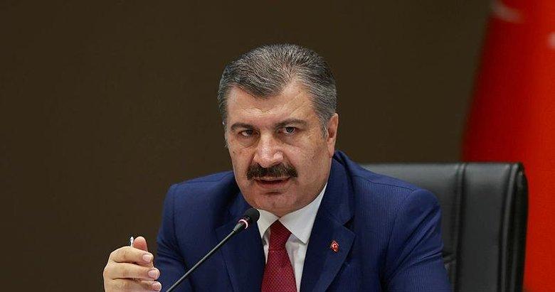 Sağlık Bakanı Fahrettin Koca'dan 'sınavlı' paylaşım